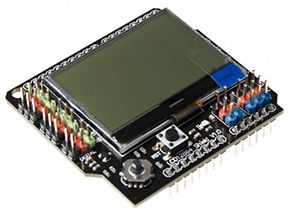 LCD12864 Shield for Arduino (P0105) [DFR0287]